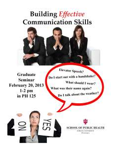 Graduate Seminar Flyer_Communication