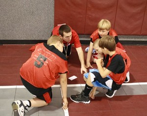 Coaching during a DistinXion camp.